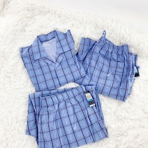 Men's 3 piece Nautica pajamas
